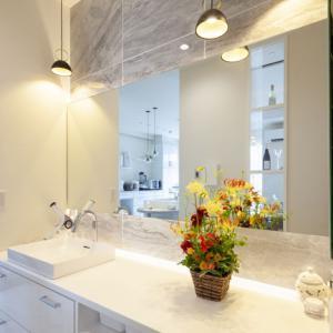デザインのポイント 洗面カウンター