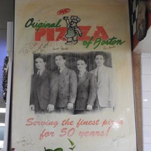 【ピザ】Original Pizza of Boston
