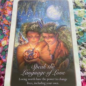 ❤️愛のあることば❤️未来予想図Ⅱを、オラクルカードでリーディングしてみました