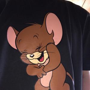 Tom&JerryのTシャツ