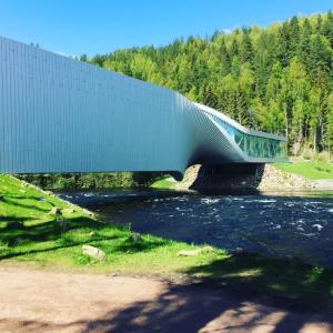 """ノルウェーの文化的観光スポット""""Kistefos """""""