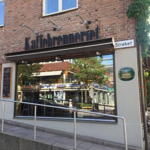 ノルウェーのAskerにあるカフェーKaffebrenneriet