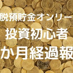 【投資初心者】3か月経過の運用報告(脱預貯金オンリー!)