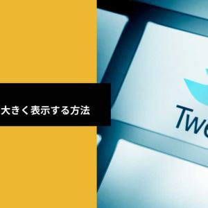 【SWELL】Twitterカードを大きく表示する方法