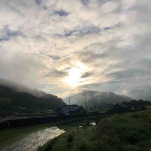 朝空があまりに綺麗だったから✨