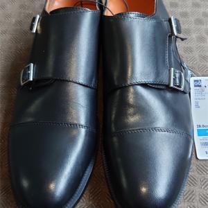 【GU】GUの本革シューズはダブルモンクストラップをチョイス!ビジネスでも使える品質?【革靴】
