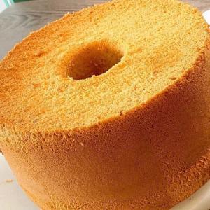 『太陽たまごの米粉シフォンケーキ』メレンゲの力のみで しっとり❤︎ふわふわ