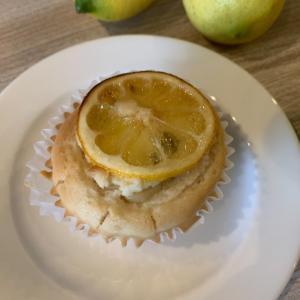 グルテンフリーvegan 『レモンカスタードマフィン』 さわやかな味がお口に広がります♪