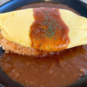 『ぷりぷりトロリーン♪オムライス』お婆ちゃんの味を引き継いだ 懐かしいデミグラスソース