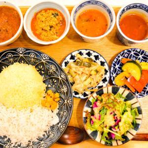 「四次元食堂」本格南インドカレーを日本の定食スタイルで楽しむ食堂