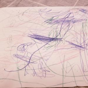 2歳児アート