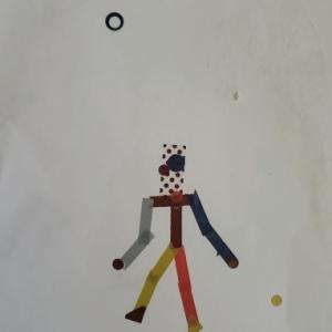 4歳児アート