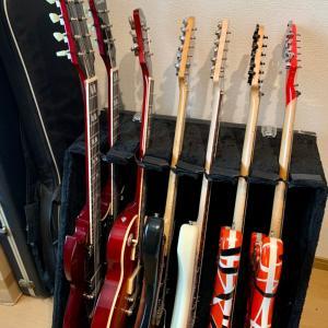 父の日はギターを弾いてます