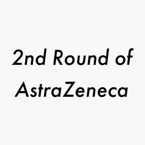 マレーシアのアストラゼネカ2nd Roundの60歳以下の予約が5月26日のお昼12時からスタート