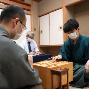 棋聖戦第二局、藤井くん勝利!