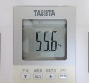 6/19 【55.6kg】 チートデイ翌日