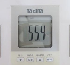 6/20 【55.4kg】 チートデイ2日後