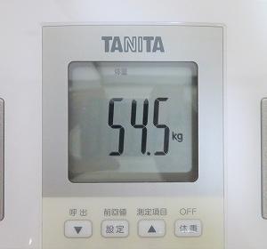6/23 【54.5kg】 一日一食で25キロ痩せました