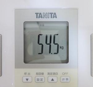 6/24 【54.5kg】 今日の運動お休み