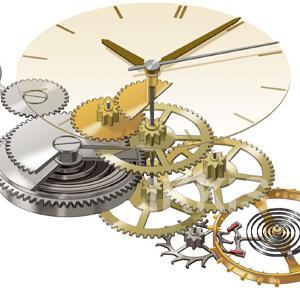 時計内部図解