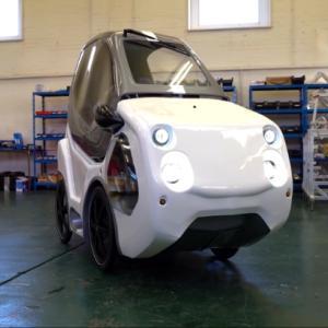 電気自動車にしか見えない電動アシスト自転車「DryCycle」が登場