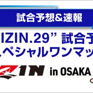 【試合予想】RIZIN.29 スペシャルワンマッチ(2021/6/27)