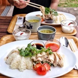 ほろほろ鶏がたまらん!自然とヤギと海南鶏飯!【珈琲さんぽ】