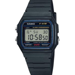 【CASIO F-91W-1JF レビュー 】驚異的な耐久性。最強の実用時計。