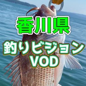 釣りビジョンVODは香川県の動画もたくさんある!