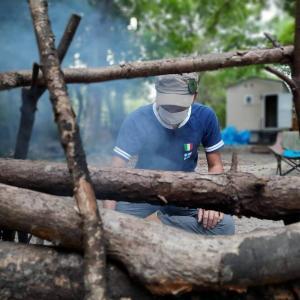 保護中: 「森のHoliday」オーナーの影山さんにキャンプとは?を問うてみた。