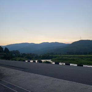 日の出が遅くなりました