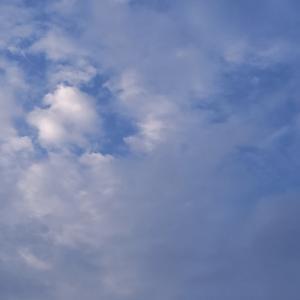 職場に着いて空を見上げたら・・・