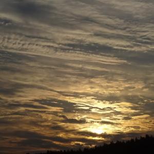 日没前の光景