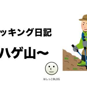 【初心者】トレッキング日記3 ~ハゲ山~