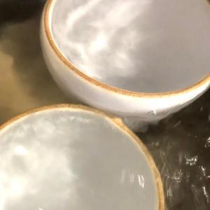 仙台日記62日目 梅雨のせいだと信じたい、陶器にカビが生えました。初めての煮沸殺菌!