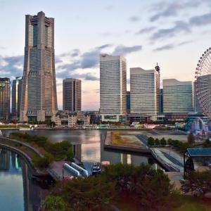 「横浜ベイシェラトンホテル&タワーズを簡単解説」