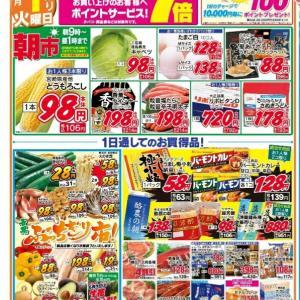 福島市★月初めに安いスーパー3選★お得情報アリ