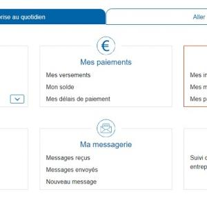 micro(auto)-entrepreneurとURSSAFの個人アカウント