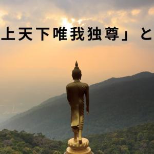 道元禅師の「普勧坐禅儀」について学ぶ⑪お釈迦様が言われた「天上天下唯我独尊」の本当の意味とは?