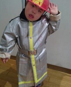 【コスプレ大好きなダウン症児】うちの次男は消防団に入りたい!