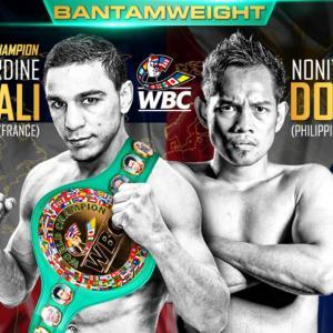 【結果】ノルディーヌ・ウバーリ vs ノニト・ドネア WBC世界バンタム級タイトルマッチ