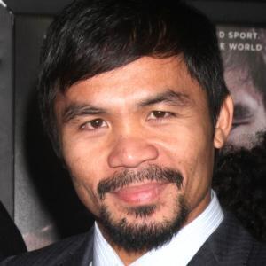 マニー・パッキャオがフィリピンの大統領選に出馬表明