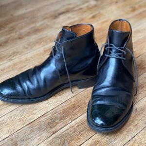 中古靴レポ(失敗‼︎):サンダースのブーツ