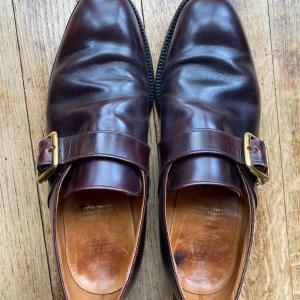 中古靴レポ:旧チャーチ(3都市)ウェストバリー
