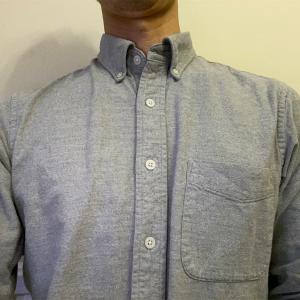 在宅ワーク時のシャツ