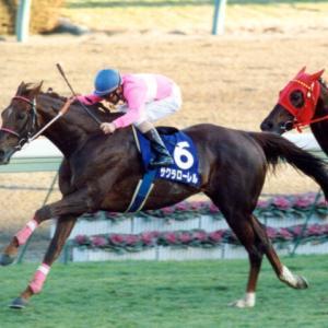 サクラローレルという年度代表馬