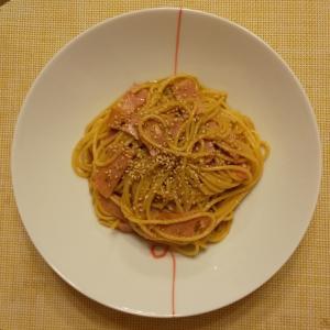 しょうゆ風味のカルボナーラスパゲティ(6回目以上)