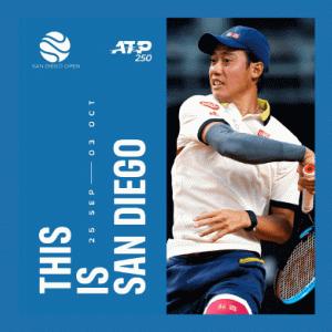 【錦織圭】サンディエゴ・オープン2021 大会情報・放送・試合速報・インタビューまとめ ATP250