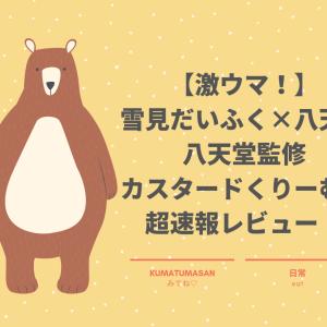 【超速報レビュー】雪見だいふく×「八天堂」!クリームパン味が美味しすぎた!