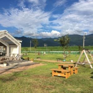木島平村のカフェ レーヴで中沢牧場のジェラート!